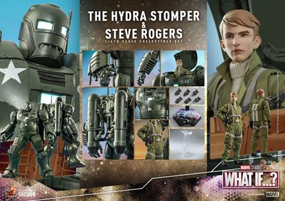 Picture of What If...? Figuras 1/6 Steve Rogers & The Hydra Stomper 28 - 56 cm