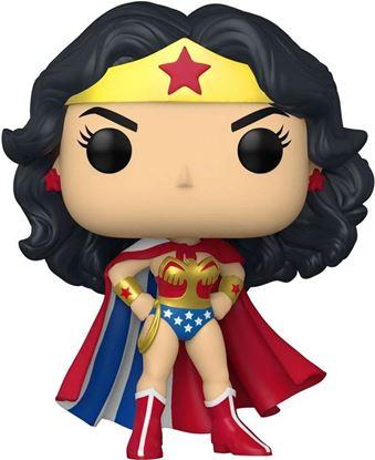 Picture of DC Comics Figura POP! Heroes Vinyl Wonder Woman 80th - Wonder Woman Classic with Cape 9 cm. DISPONIBLE APROX: FEBRERO 2022