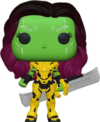 Picture of What If...? POP! Marvel Vinyl Figura Gamora with Blade of Thanos 9 cm. DISPONIBLE APROX: FEBRERO 2022