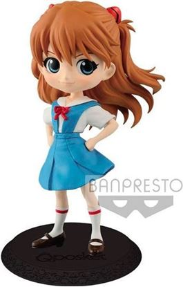 Picture of Figura Q Posket Asuka Shikinami Langley - Evangelion - Version A 14 cm