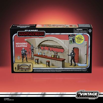 Picture of Star Wars The Mandalorian Vintage Collection Nevarro Cantina con Imperial Death Trooper (Nevarro)