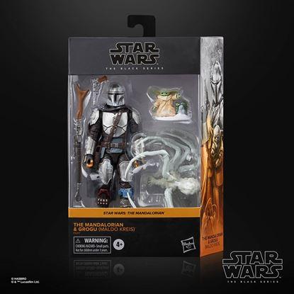 Picture of Star Wars The Mandalorian Black Series Figuras 2021 Mandalorian & Grogu (Maldo Kreis) 15 cm